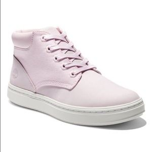 Timberland sneaker leather Bria light pink 9.5